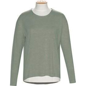 Alchemy Equipment 180GSM Relaxed Maglia in lana merino a maniche lunghe Donna, thyme